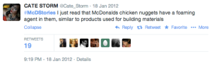 It's said that prevent is 99% of the cure, so be prepared in the event something like the McDonald's #McDstories debacle happens to your campaign. Make sure your hashtag is clearly defined; an open-ended hashtag practically invites pranksters to run away with it. Also, people with an axe to grind or complaint will use the hashtag to express their unhappiness with a company.