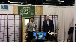 Jon Tanklage, president of Marukan, and his menthe sales executive Esther Hawksley worked side-by-side the first six months she was with Marukan