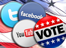 Voters used social networks like Facebook and Twitter far more in the 2014 midterms than in the 2010 midterm elections. About 16% of registered US voters said they used social media to follow a candidate or get information on a campaign — up from 6% four years earlier.