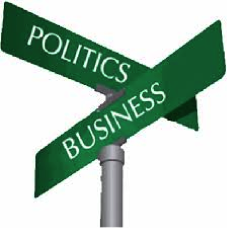 business and politics Executives and business leaders should be aware that expressing their views by nature exerts pressure on employees and associates to conform.