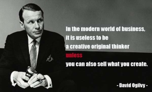 David Ogilvy's words of wisdom--and phenominal ability to pinpoint exactly how to connect with an audience--has made him an inspiration to generations of marketing and advertising professionals alike