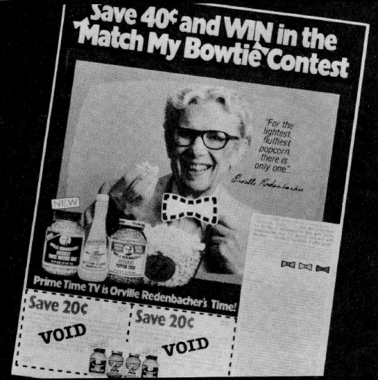 This promotion made the most of timing and brand image to boost consumption and share, thus keeping Orville Redenbacher's the leading name in the snack category.