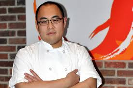 Chef Brian Tsao grew up watching his mother use Marukan Rice Vinegar in recipes; as a chef it was natural for him to do so as well. When he gained prominence in the culinary world he was approached to represent Marukan Rice Vinegar in a trade communications campaign.