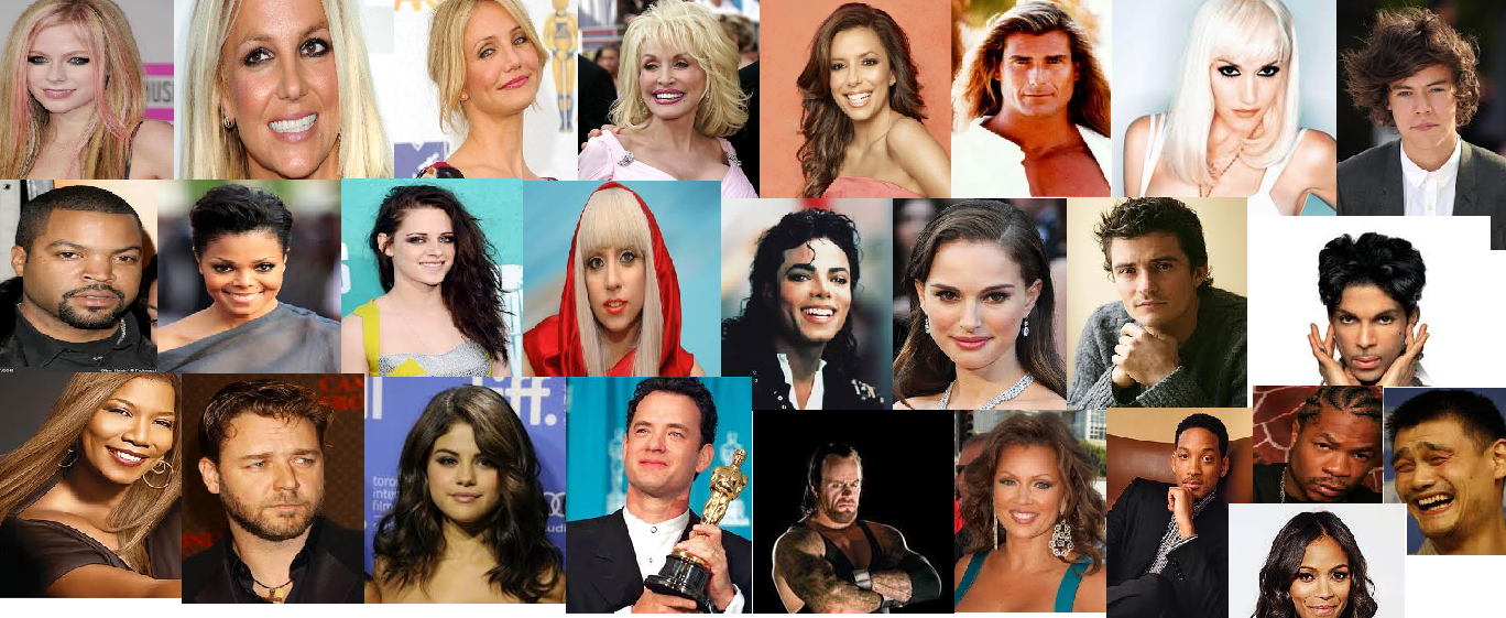 Celebrity Collage - YouTube