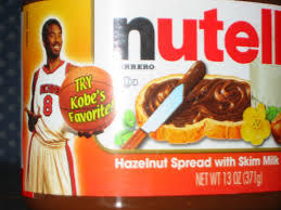 """Nutella's """"Kobe's Favorite Spread"""" tagline took on new and disturbing meaning after he was arrested for sexual assault in 2002."""